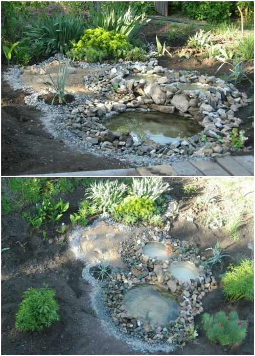 15 budget friendly diy garden ponds you can make this for Easy backyard pond