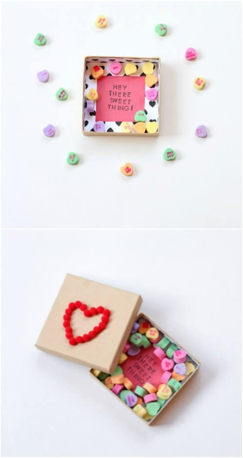 Easy DIY Valentine's Day Candy Box