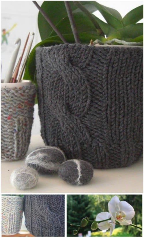 DIY Crocheted Pot Covers