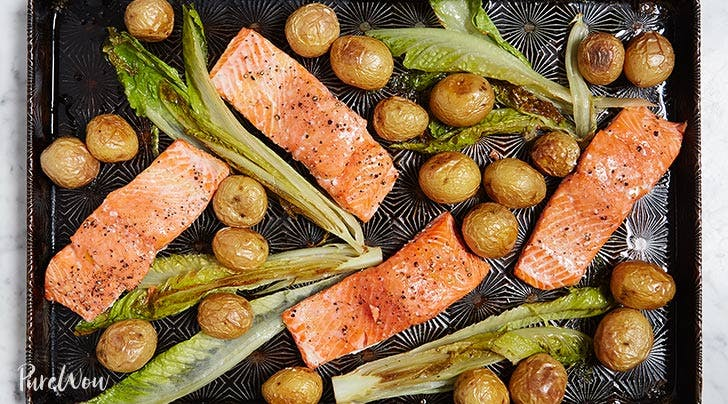 Easy Roasted Salmon And Potatoes
