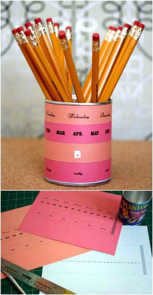 17 DIY Calendar Ideas To Start The New Year Organized
