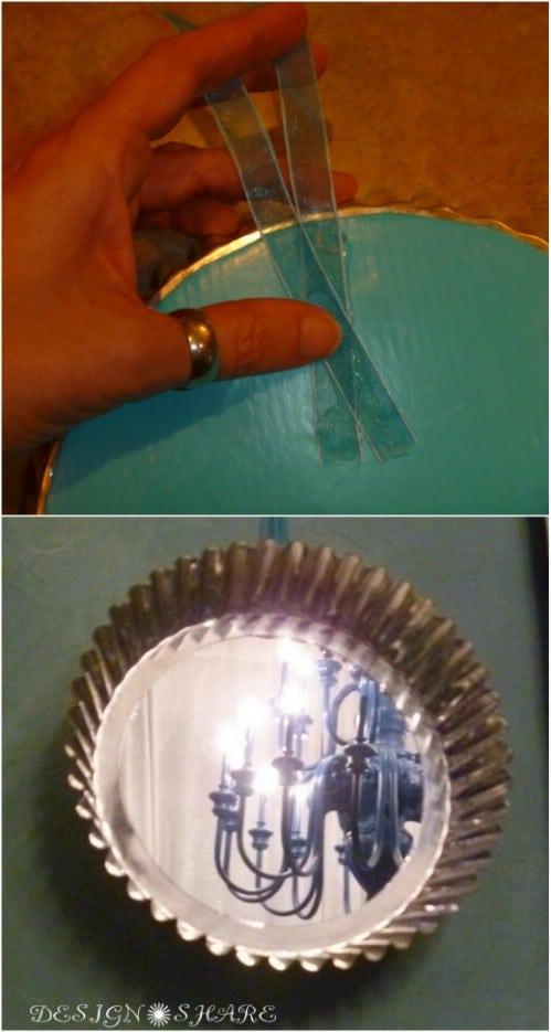 DIY Angel Food Cake Pan Mirror