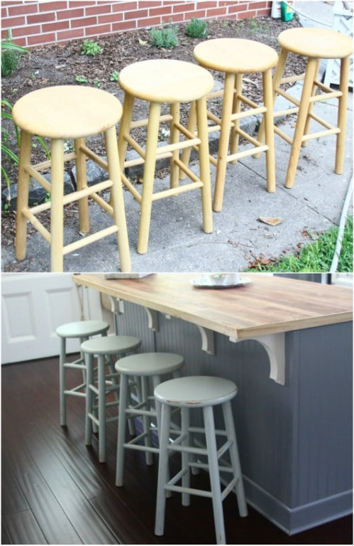 Trendy Furniture: 14 DIY Bar Stool Ideas - Style Motivation