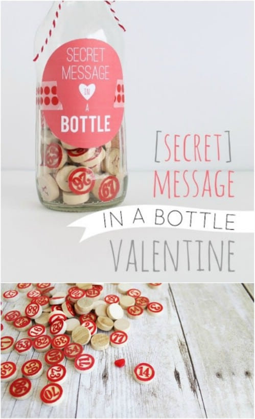 Secret Message In A Bottle Gift