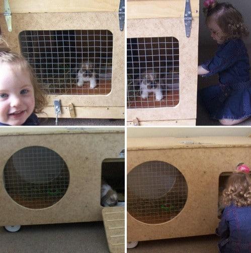 10 free diy rabbit hutch plans that make raising bunnies for Easy diy rabbit cage budget