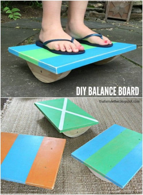Fun DIY Wooden Balance Board