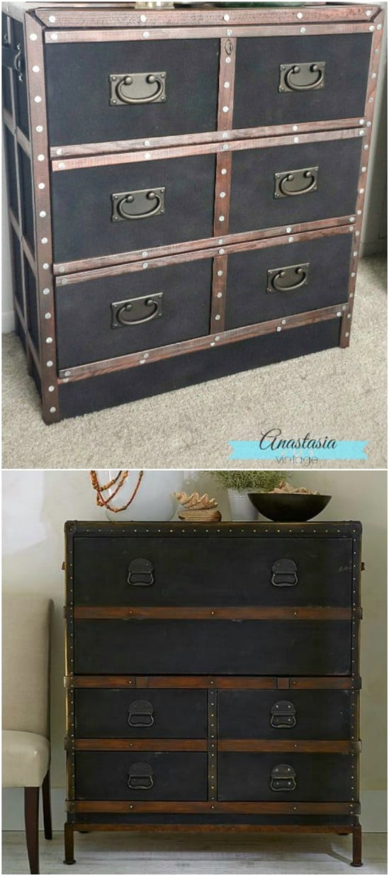 Pottery Barn Inspired Dresser – IKEA Hack