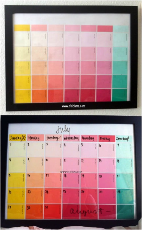 Diy Quote Calendar : Diy calendars and planners to start off the new year