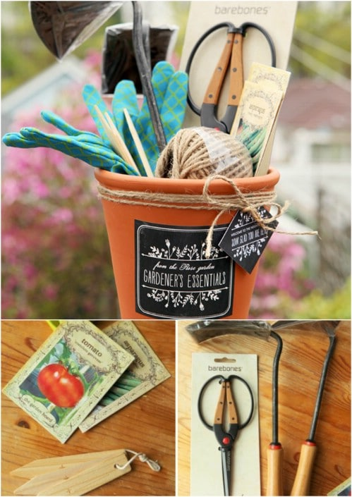 Diy Gardener S Gift Basket