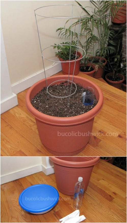 15 diy self watering planters that make container gardening easy diy crafts