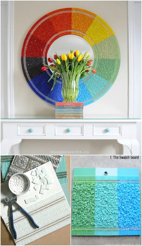 DIY Home Decor Project Ideas:14 Creative Mirrors to Make