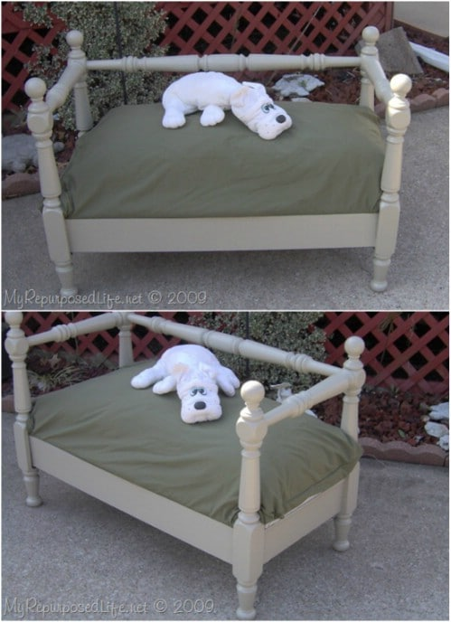 DIY Doggie Daybed