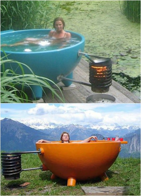 Off The Grid Hot Tub
