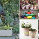 25 DIY Garden Pots That Add Decor To Your Outdoor Living Spaces