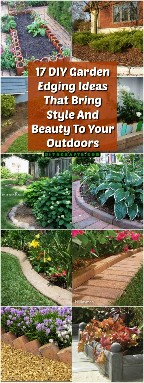 17 DIY Garden Edging Ideas That Bring Style And Beauty To Your Outdoors