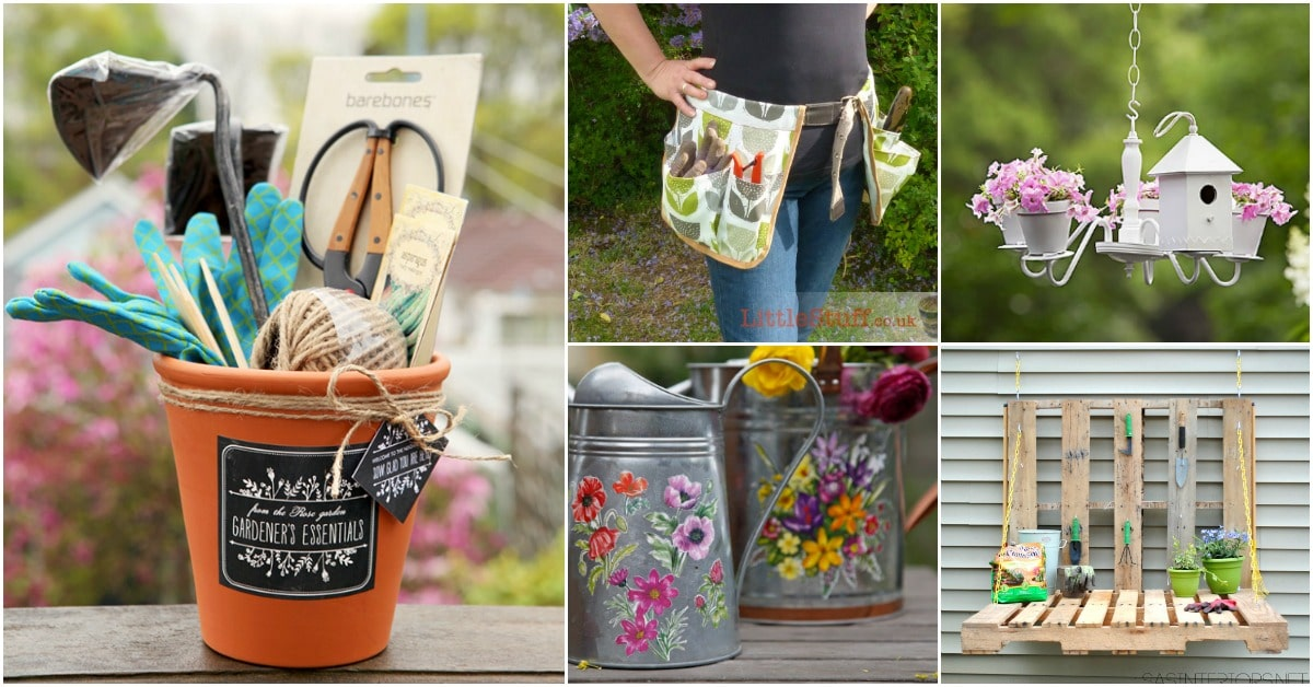 Bon 20 Unique DIY Gifts For Gardeners