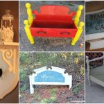 20 Astonishing Repurposing Ideas For Old Headboards And Footboards