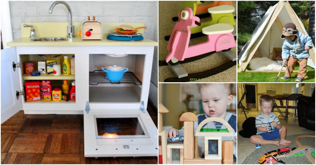 Used Toys For Toddlers : 30 diy rustic wooden toys kids will love diy & crafts