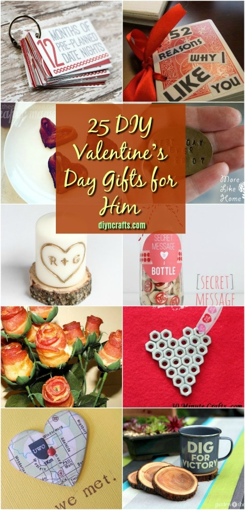 25 Diy Valentine S Day Gifts That Show Him How Much You Care Diy