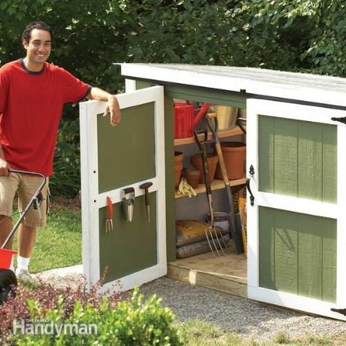 Quick And Easy Outdoor Storage Locker