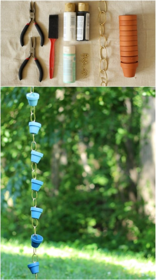 DIY Rain Chain Ideas for Outdoor Decor
