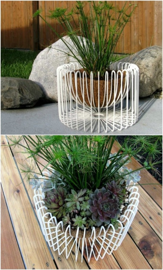 Tradig Wire Bowl Planter