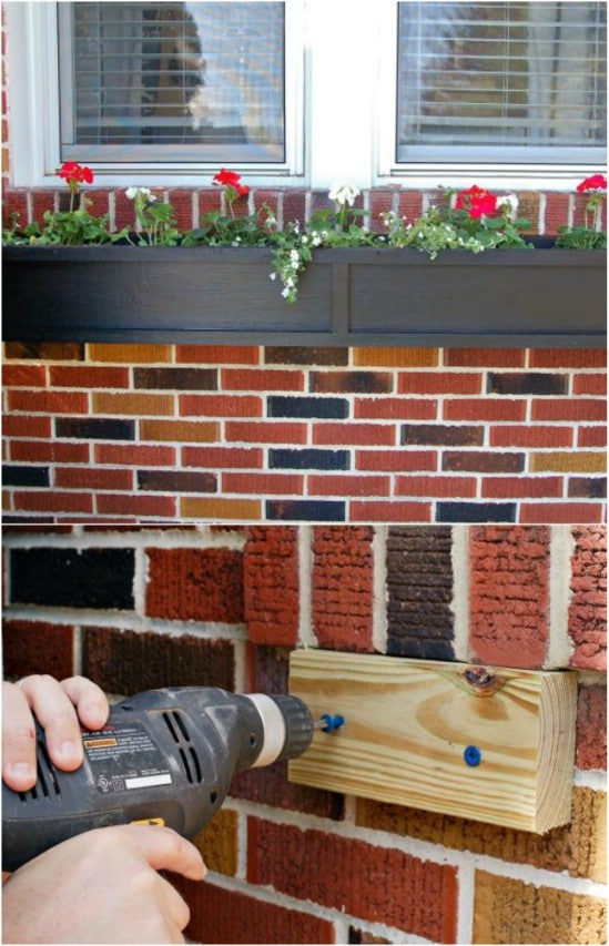 15 DIY Window Flower Box Planters