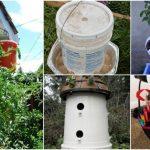 20 Borderline Genius DIY Ideas For Repurposing Five Gallon Buckets