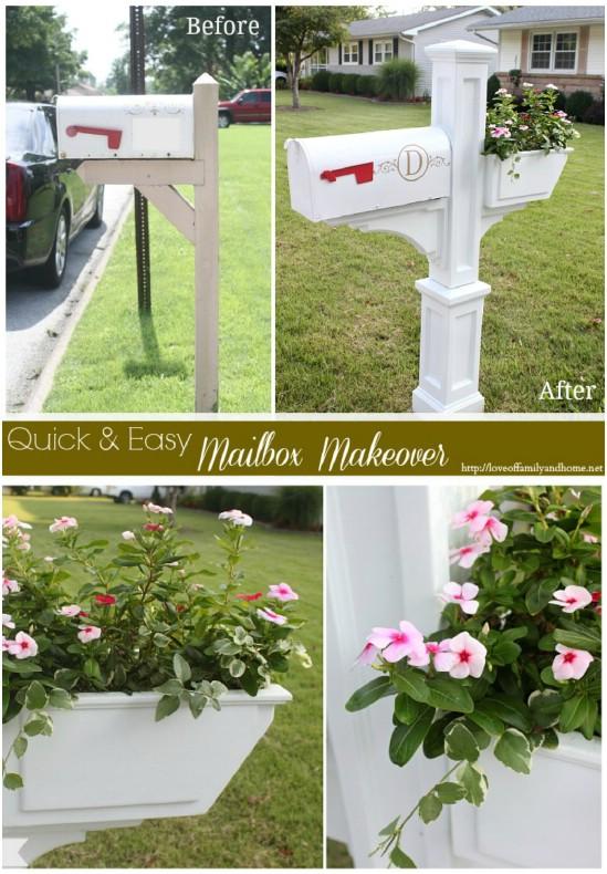 Gorgeous White Elegant Mailbox