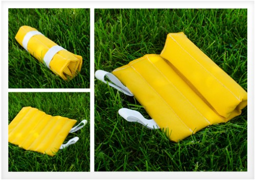 Rice Filled Roll Up Garden Kneeler