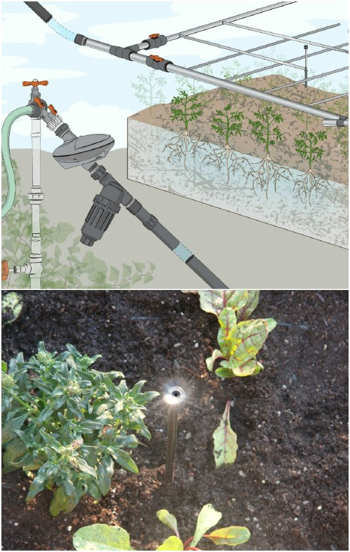 DIY Automatic Drip Irrigation System