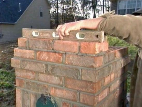 DIY Brick Mailbox