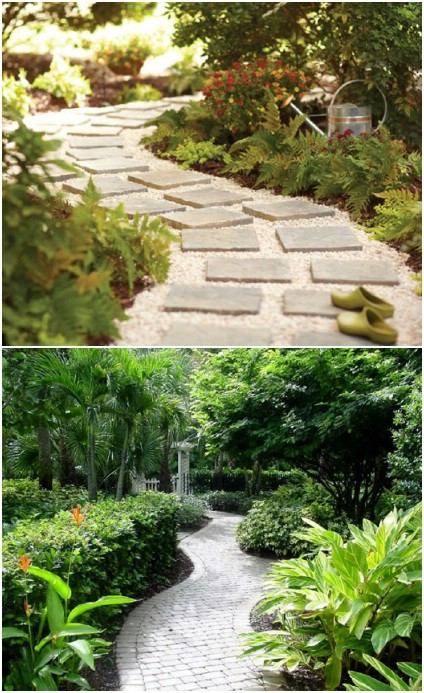 Easy One Day DIY Garden Path