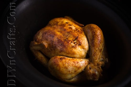 Chicken in slow cooker: