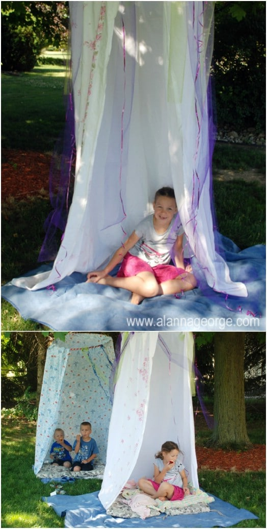 Great DIY Ideas for Outdoor Play Areas for Your Kids