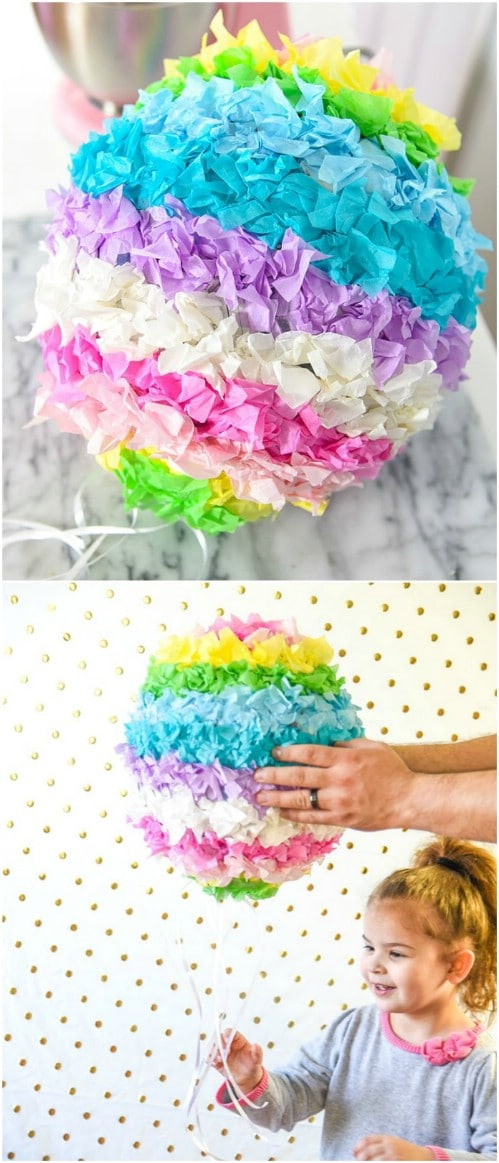 Easy DIY Piñata Easter Eggs