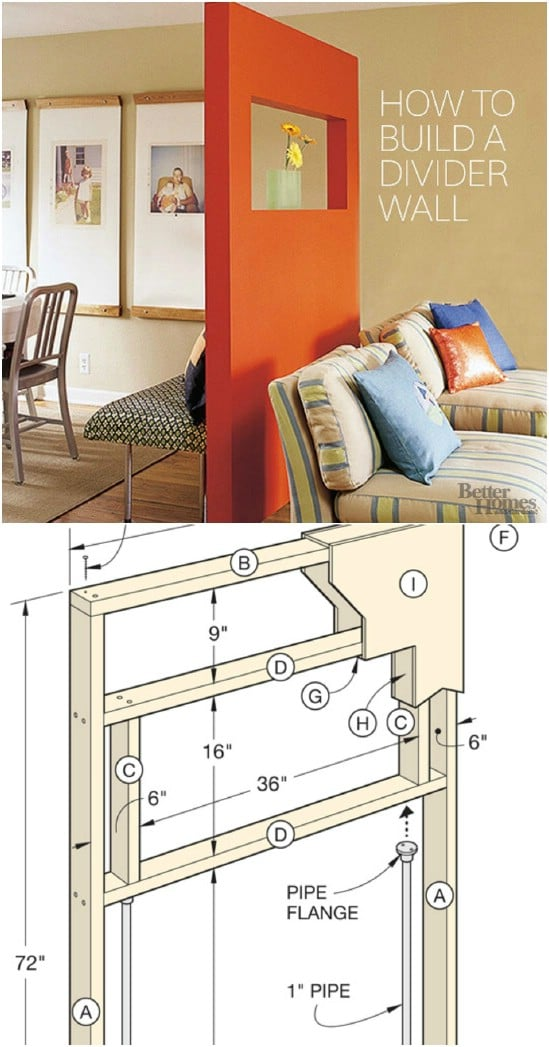 DIY Freestanding Window Box Wall