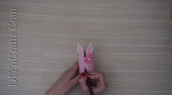 Bunny Pencil Cup - 5 Easy Easter Crafts For Kids In Under 5 Minutes