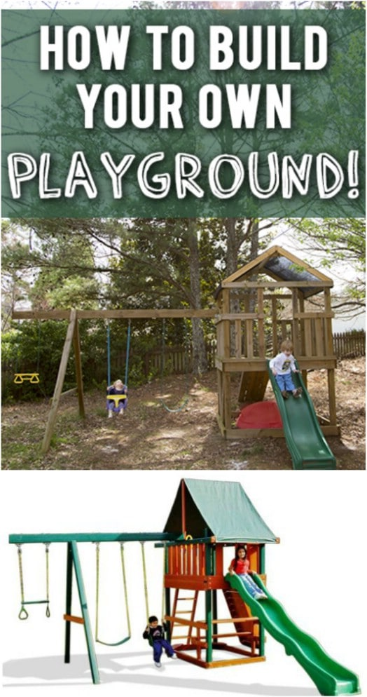 DIY Wooden Playground