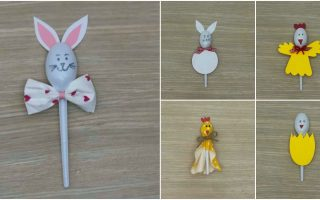 5 Fun Easter Crafts for Kids Using … Plastic Spoons!
