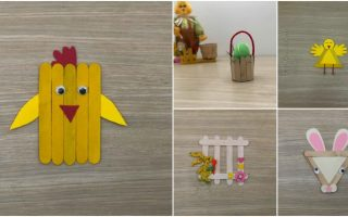 5 Easy DIY Easter Projects You Can Make With Ordinary Craft Sticks