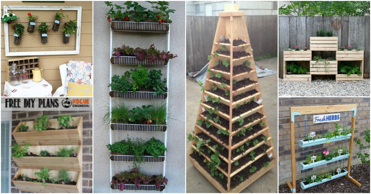 20 DIY Vertical Gardens That Give You Joy In Small Spaces