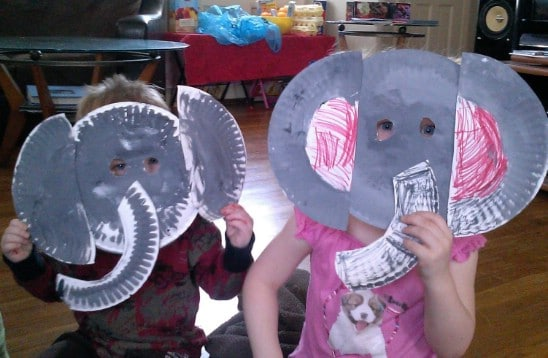 DIY Dumbo Face Masks