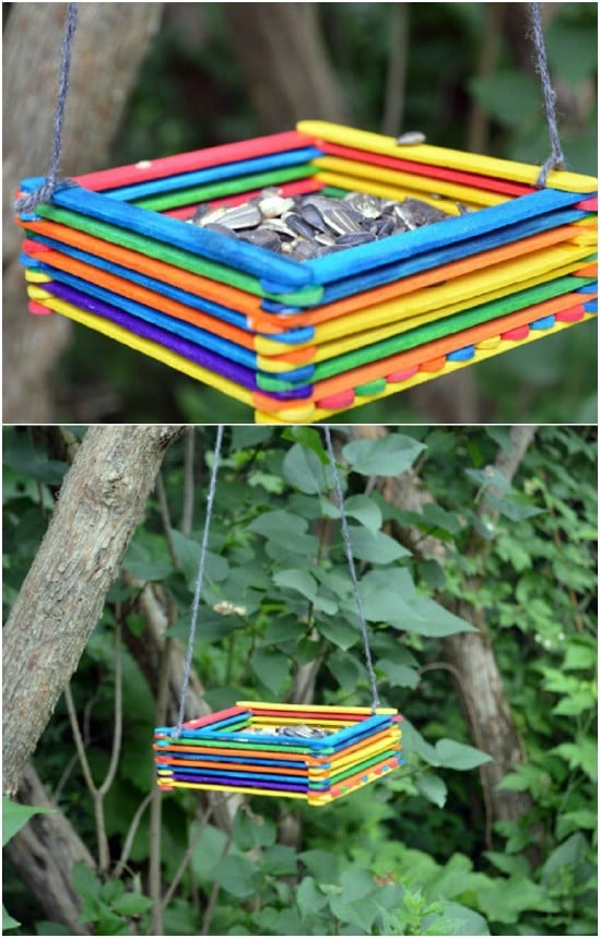 14 Creative and Fun Popsicle stick crafts (Part 1)