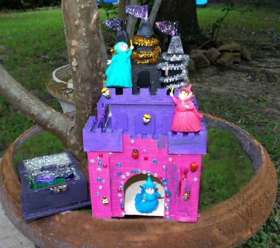 DIY Disney Fairy Godmother House