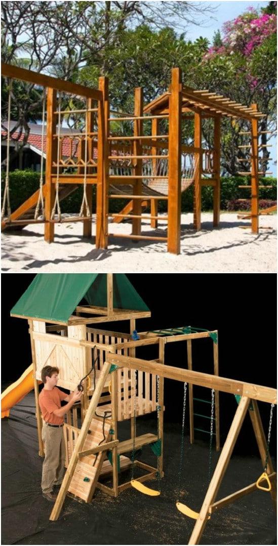 The Ultimate DIY Swing Set