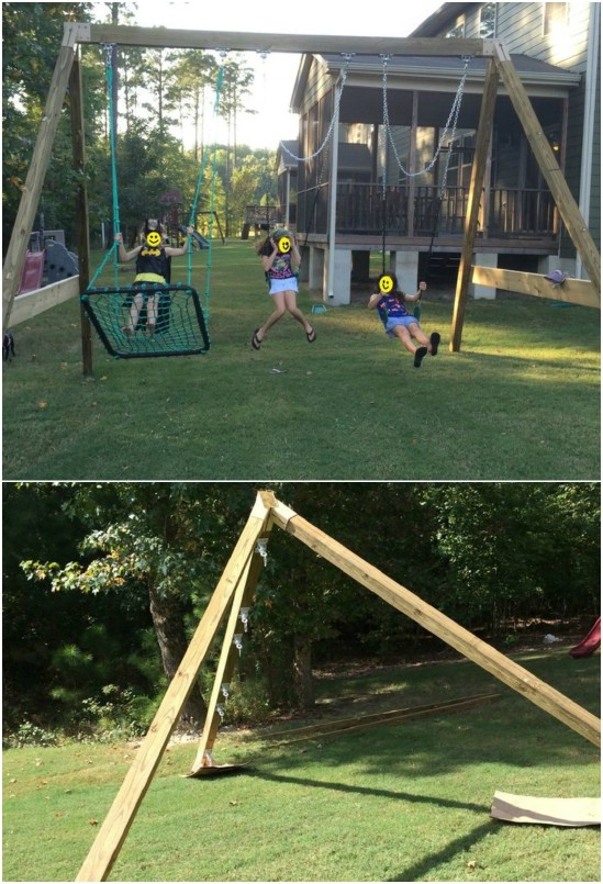 14 Great DIY Backyard Swing Ideas