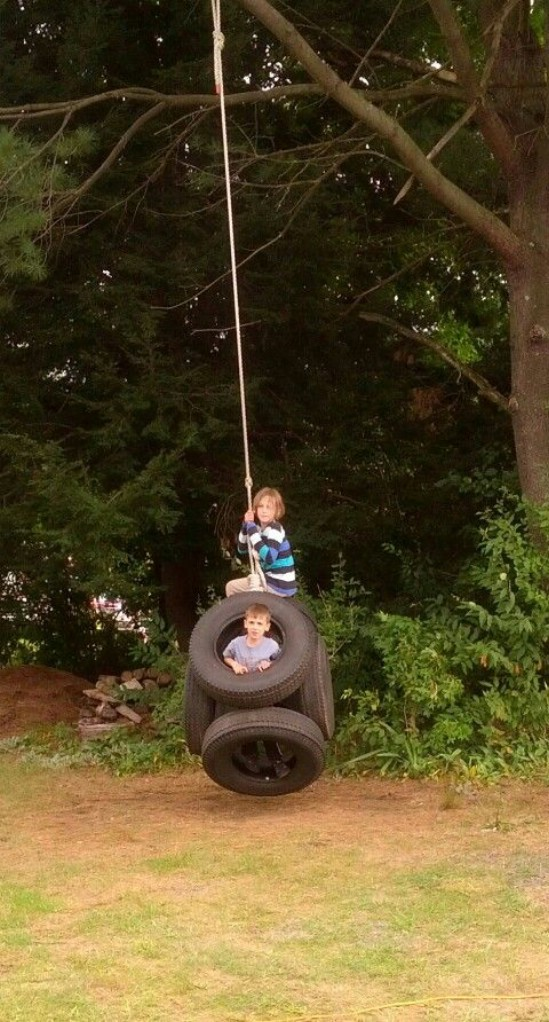 DIY Multi Tire Swing