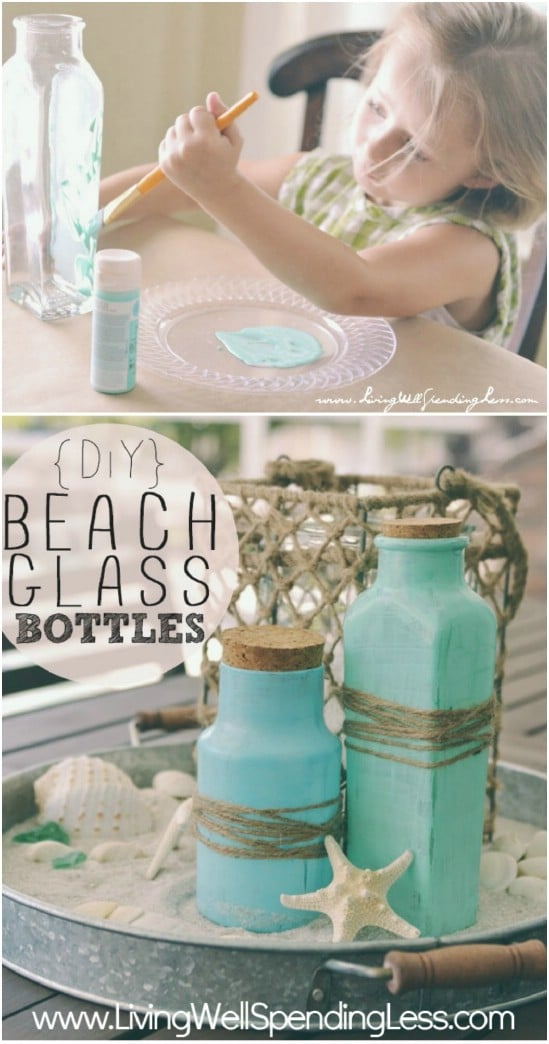 Coastal Feel 15 Diy Beach Decor Projects Style Motivation