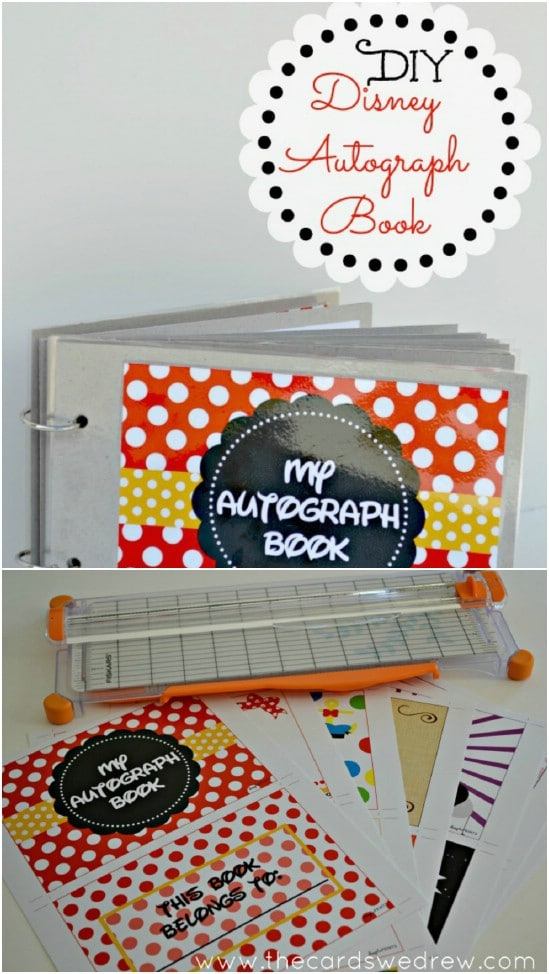 DIY Disney World Autograph Book